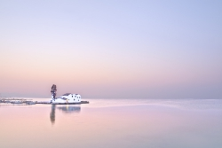 Tranquility at dawn (Corfu, Pastel shades)