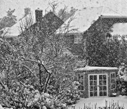 Snowfall.Norwich